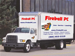 Free delivery and setup  on many laser printers.Contact Fireball PC Sales for details.